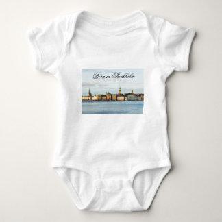 Gamla Stan in Stockholm, Sweden Baby Bodysuit