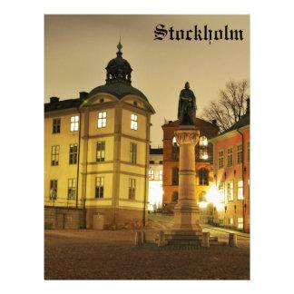 Gamla Stan in Stockholm, Sweden Letterhead