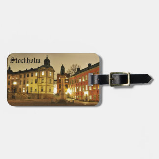 Gamla Stan in Stockholm, Sweden Luggage Tag