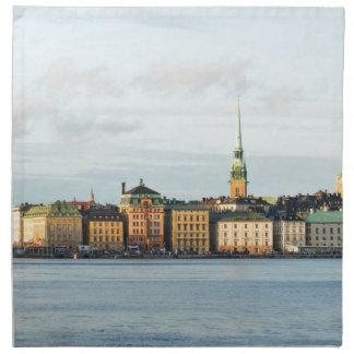Gamla Stan in Stockholm, Sweden Napkin