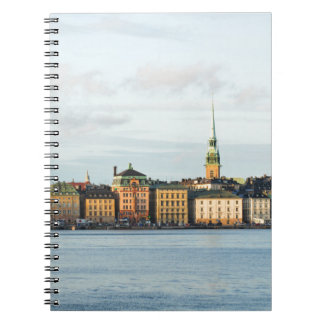Gamla Stan in Stockholm, Sweden Notebook