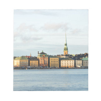 Gamla Stan in Stockholm, Sweden Notepad