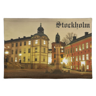 Gamla Stan in Stockholm, Sweden Placemat