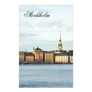 Gamla Stan in Stockholm, Sweden Stationery