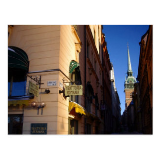 Gamla Stan Stockholm Collection Postcard