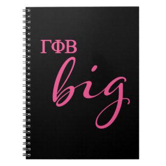 Gamma Phi Beta Big Script Notebook
