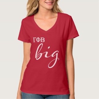 Gamma Phi Beta Big Script T-Shirt