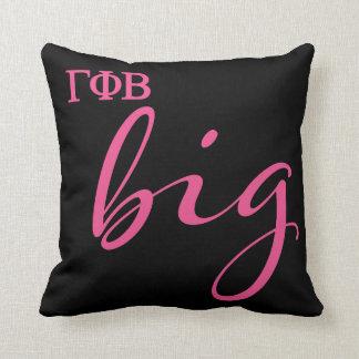 Gamma Phi Beta Big Script Throw Pillow
