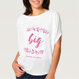 Gamma Phi Beta Big Wreath T-Shirt
