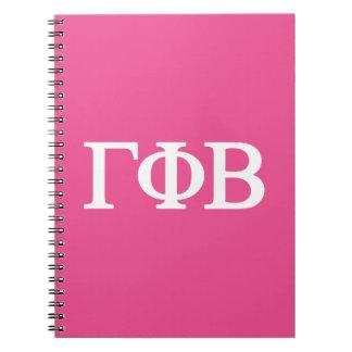 Gamma Phi Beta Lil Big Logo Notebook