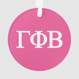 Gamma Phi Beta Lil Big Logo Ornament
