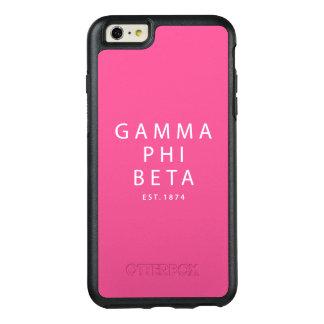 Gamma Phi Beta Modern Type OtterBox iPhone 6/6s Plus Case