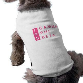 Gamma Phi Beta Stacked Shirt