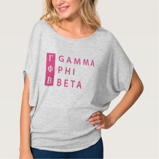 Gamma Phi Beta Stacked T-Shirt
