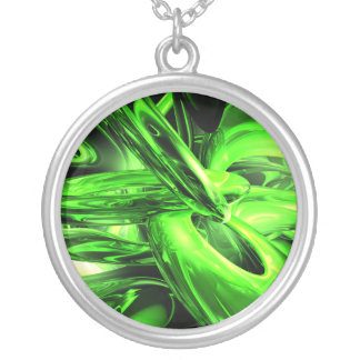 Gamma Radiation Abstract Necklace