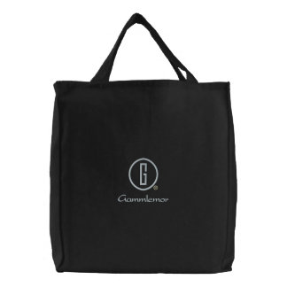 Gammlemor s embroidered bag