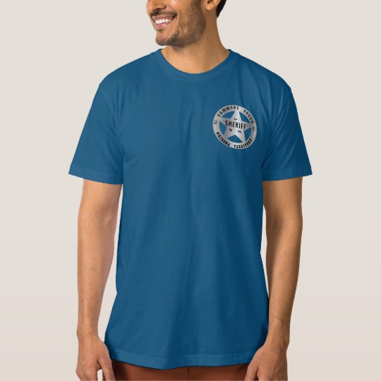 Gammons Gulch Sheriffs Badge Men's T-shirt