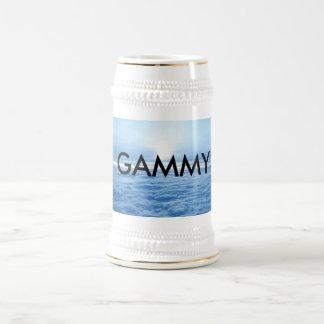 Gammy Coffee Mug Two Toned Grandmother Tea Cup