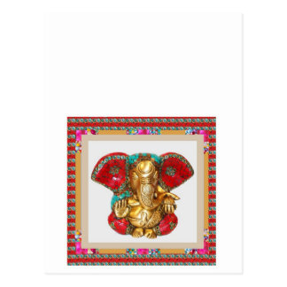Ganapati Ganesh Postcard