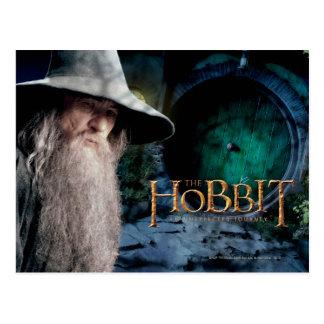 Gandalf at Bilbo s House Postcard