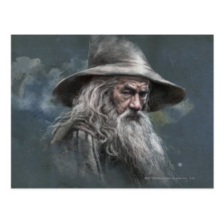 Gandalf Illustration Postcard