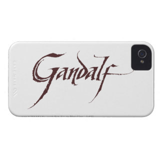 Gandalf Name Solid Case-Mate iPhone 4 Cases