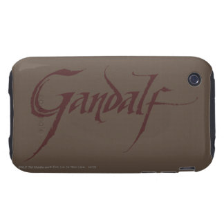 Gandalf Name Solid Tough iPhone 3 Covers