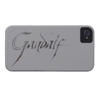 Gandalf Name Textured iPhone 4 Covers