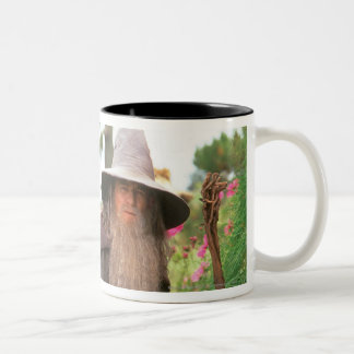 Gandalf with Hat Two-Tone Coffee Mug