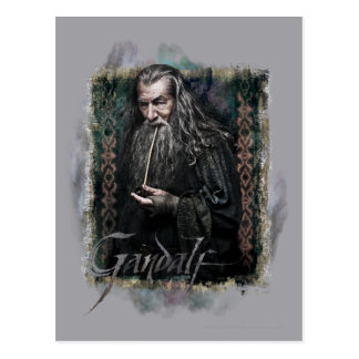Gandalf With name Postcard