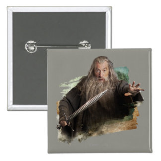 Gandalf With Sword Pins