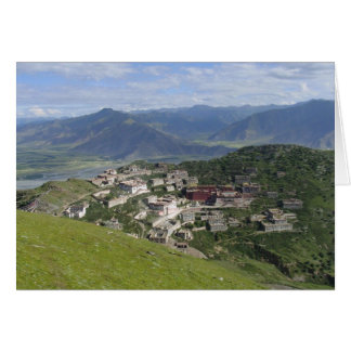 Ganden Monastery Greeting Card