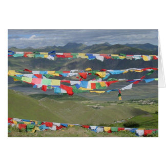 Ganden Monastery Prayer Flags Greeting Card