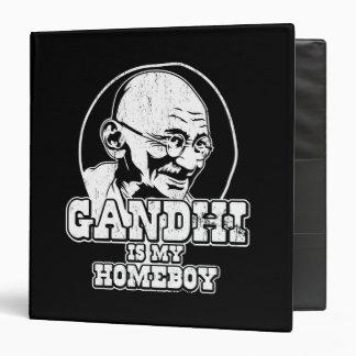 Gandhi est mon Homeboy Classeur Vinyle