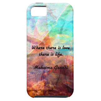 Gandhi Inspirational Quote about Love, Life & Hope Case For The iPhone 5