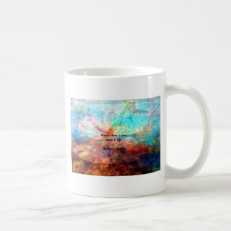 Gandhi Inspirational Quote about Love, Life & Hope Coffee Mug