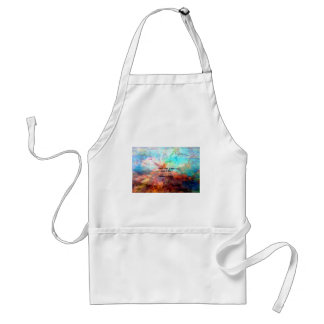 Gandhi Inspirational Quote about Love, Life & Hope Standard Apron