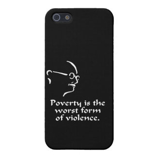 Gandhi Poverty Case For The iPhone 5