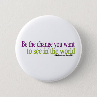 Gandhi Quote 2 Inch Round Button