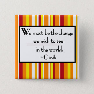 Gandhi Quote Button