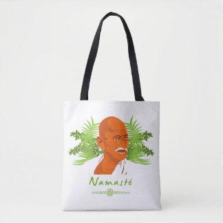 Gandhi stock market tote bag
