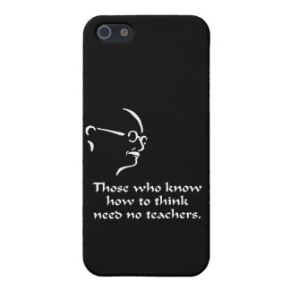 Gandhi Think Case For The iPhone 5