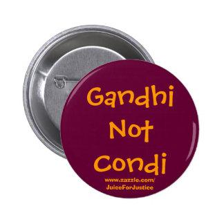 GandhiNotCondi 2 Inch Round Button