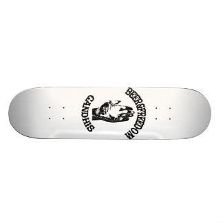 GANDHIS BEER&FREEDOM DECK CUSTOM SKATE BOARD