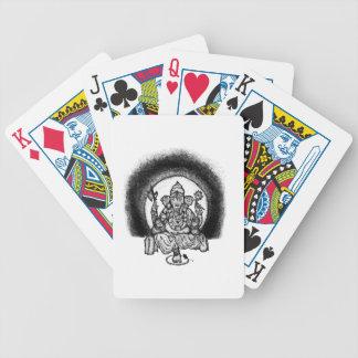 ganesh bicycle playing cards