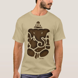 Ganesh Brown T-Shirt