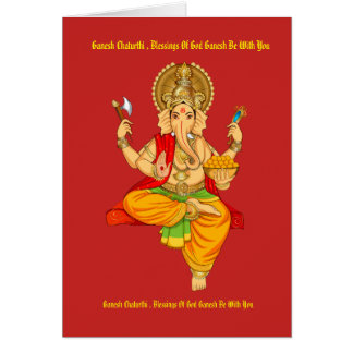 Ganesh Chaturthi 2017 Card