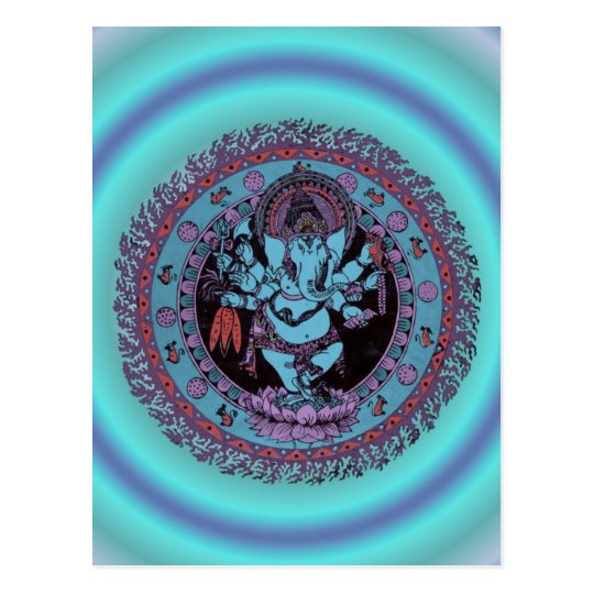 Ganesh Dancer Postcard
