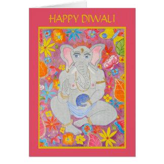 Ganesh Diwali Greeting Card