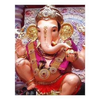 Ganesh Ganesha Hindu India Asian Elephant Deity Custom Letterhead